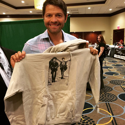 Endverse Supernatural Dean and Castiel hoodie