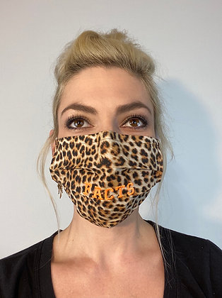 Leopard FACTS Bentellect Face Mask