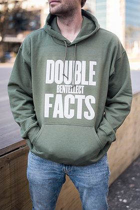 Green Double FACTS Bentellect Hooded Sweatshirt