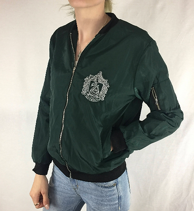 Slytherin Bomber Jacket
