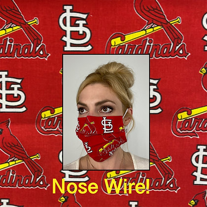 Saint Louis cardinals Face Mask
