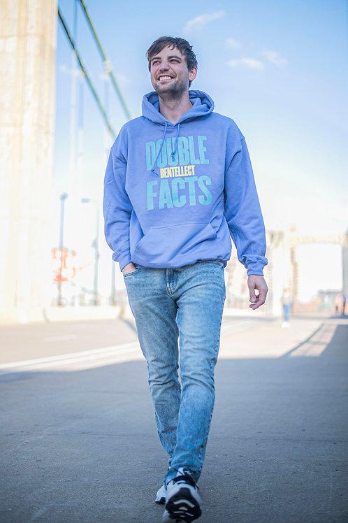 Lavender Double FACTS Bentellect Hooded Sweatshirt