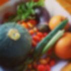 たくさんとれますなぁ😂__#無農薬ミニトマト #無農薬野菜 #無農薬かぼちゃ