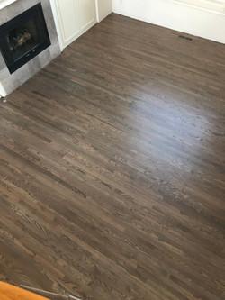 Jacobean on Red Oak Floors