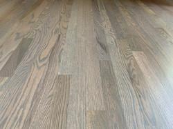 Classic Gray on Red Oak Floors