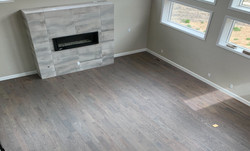 Classic Gray with Matte Finish on White Oak Floors