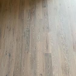 Super White Rubio Monocoat On Beautiful Muscanell White Oak Floors