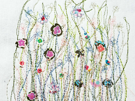Beautiful free-motion embroidery
