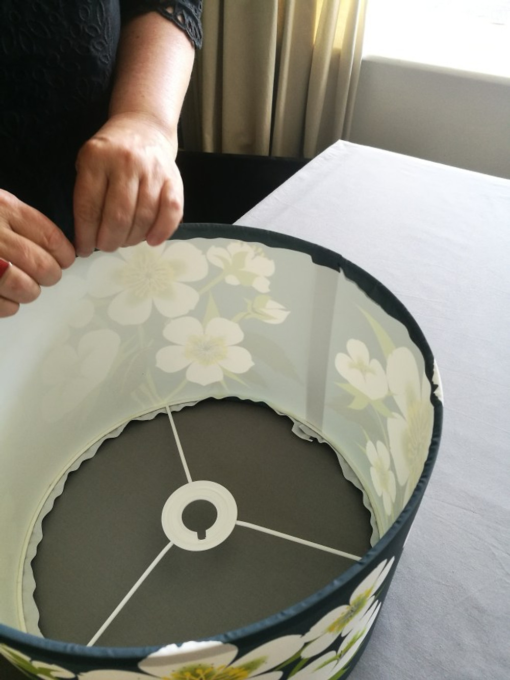 How to make a DIY drum lampshade
