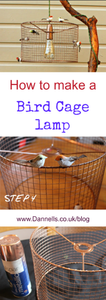 How to make a bird cage DIY lamp