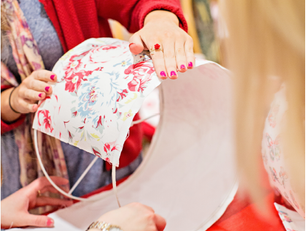 How to promote your lampshade making workshop