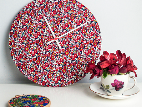 How to make a bespoke clock using our clock kit!
