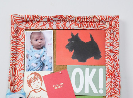 Kid's bedroom ideas – Decoupage picture frame