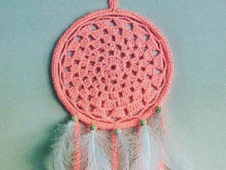 Neon Crochet Dream Catcher