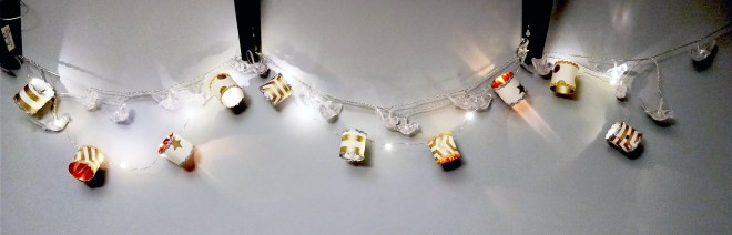 Handmade DIY fairy lights