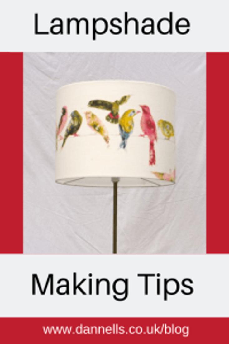 Lampshade making tips