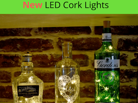 Eco friendly lighting – New LED Cork lights