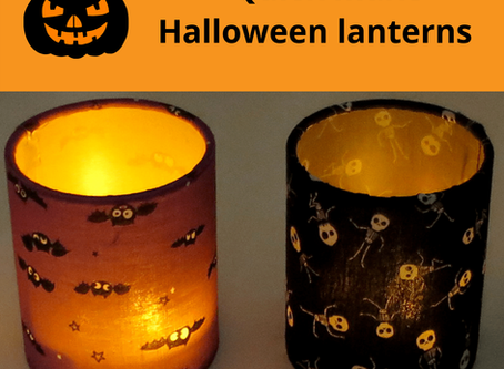 Quick make Halloween lantern kits