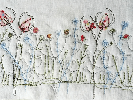 PicpacNaddywak and her intricate free motion embroidery