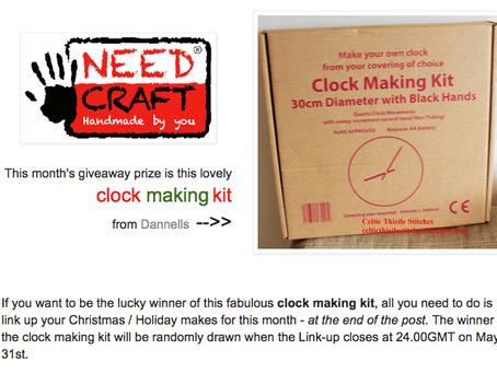 Win a fab clock making kit!
