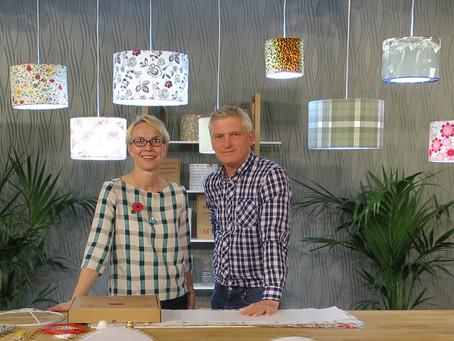 Get crafty with Needcraft lampshade tutorials live on Hochanda TV every month!