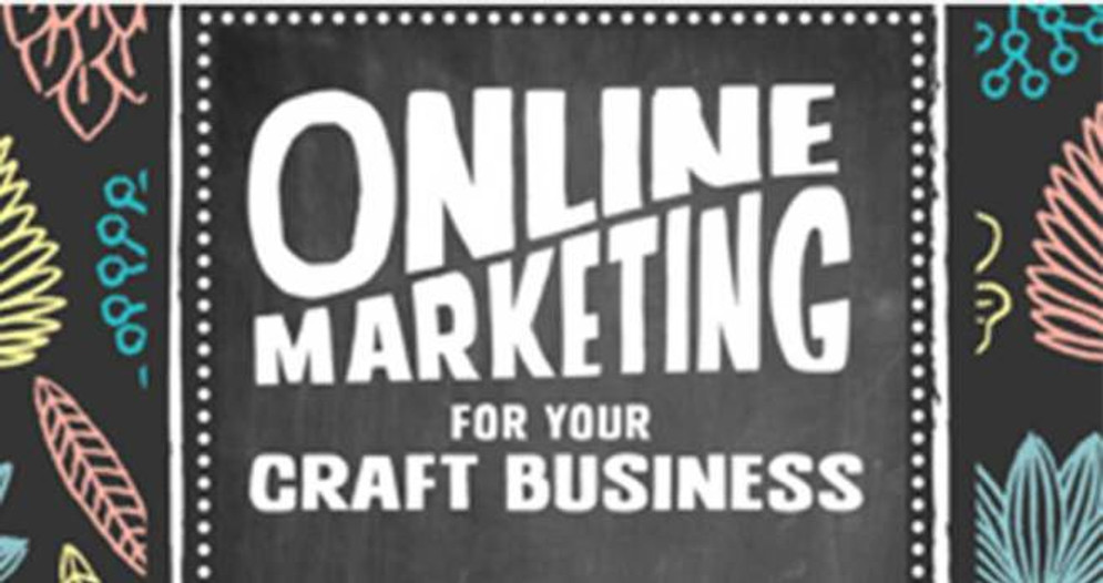 Book cover: Online marketing for your craft business