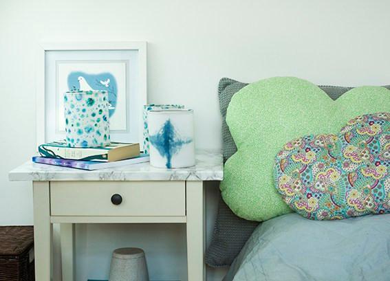 Bedroom scene with Lantern from Dannells