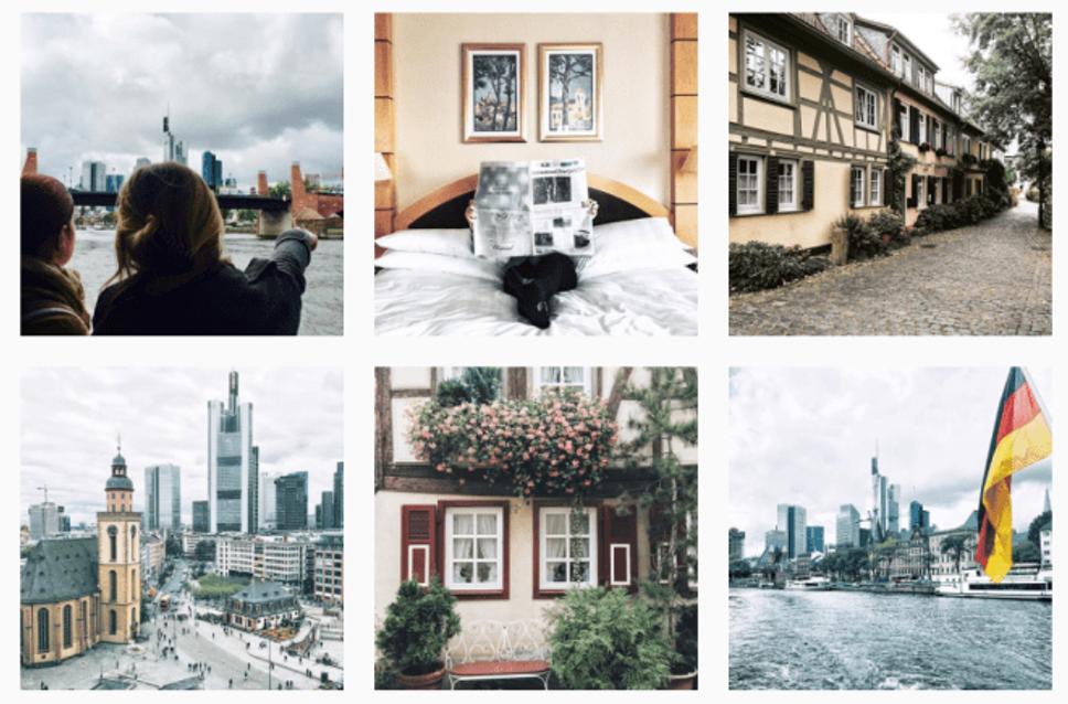 Visit Frankfurt Instagram photos