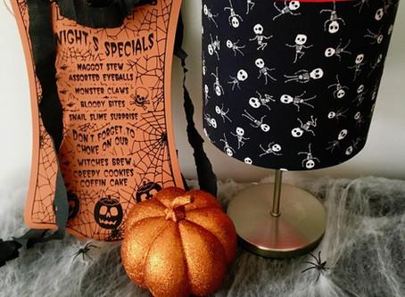 5 creative lampshade ideas for Halloween