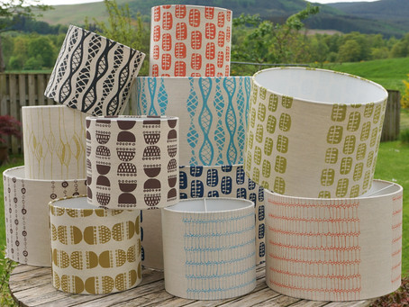 Announcing Needcraft's competition winner, Caron Ironside Design- Lampshade designer and scree