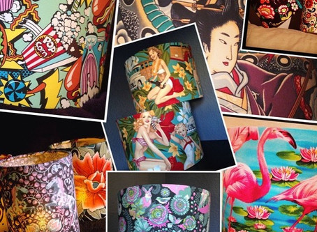 Light up your life with Bird and Button and her bespoke lampshades!