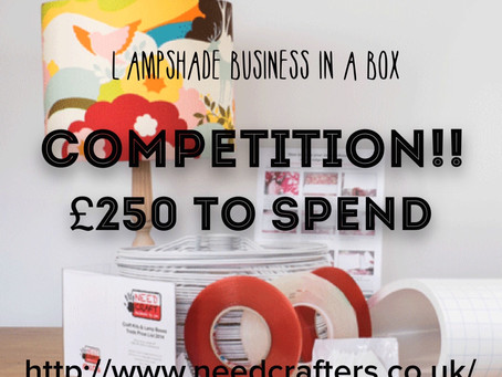 lampshade competition deadline extended!