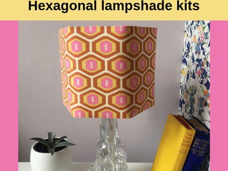 Go geo! Make a hexagonal shade