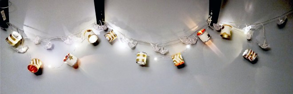 How to make fairy light lanterns