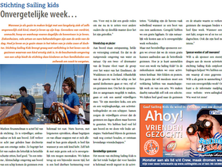 Sailing Kids in de Ondernemerskrant!