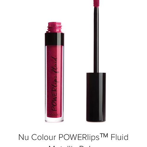 Nu Colour Powerlips Fluid Matallic