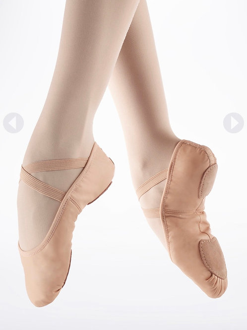 Split sole Ballet shoe - leather