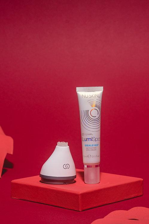 Accent Head & Ideal Eyes cream