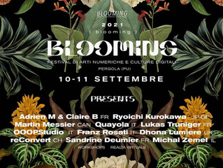 BLOOMING FESTIVAL 2021