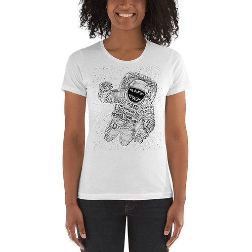 Safe Space Ladies' T-Shirt White