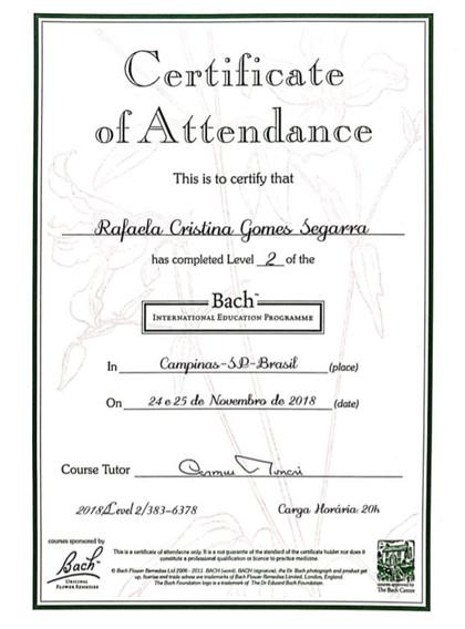 Floral de Bach Nível 1