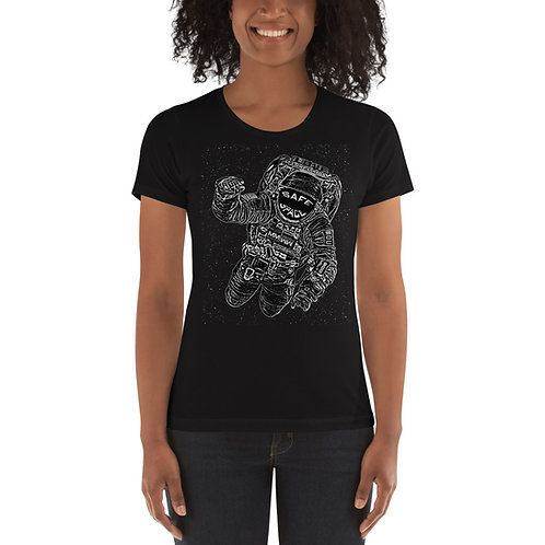 Safe Space Ladies' T-Shirt Black