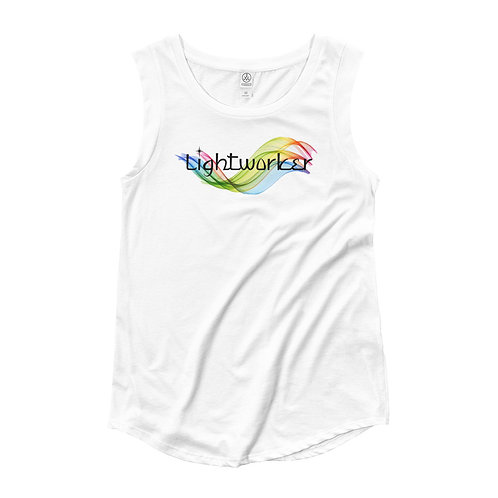Spectrum Lightworker Ladies' Cap Sleeve T-Shirt