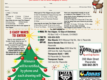 Win prizes in our 12 Days of Christmas Contest!