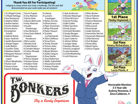 Check out the 2021 Winners of our Easter Coloring Contest in our latest issue by clicking the image!