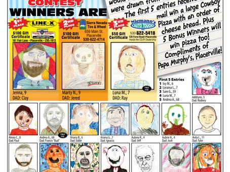 Draw Dad Contest Winners!