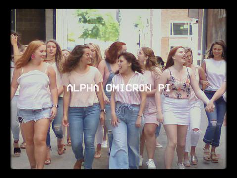 ALPHA OMICRON PI RECRUITMENT (2019)