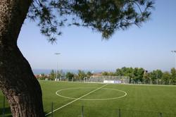 Rifacimento campo sportivo in erba sintetica