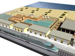 Progettazione e modellazione di intervento sul litorale
