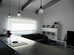Villa residenziale con copertura in acciaio